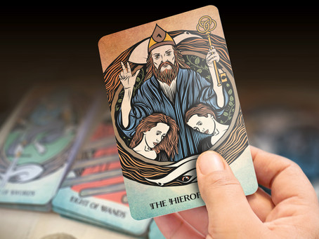 The Hierophant - Tarot of Sacred Realms