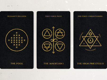 The Fool, The Magician, and The High Priestess