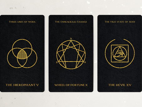 The Hierophant, the Wheel of Fortune, and The Devil
