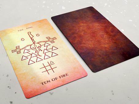 Ten of Fire (Wands)