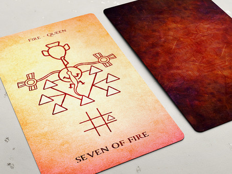 Seven of Fire (Wands)