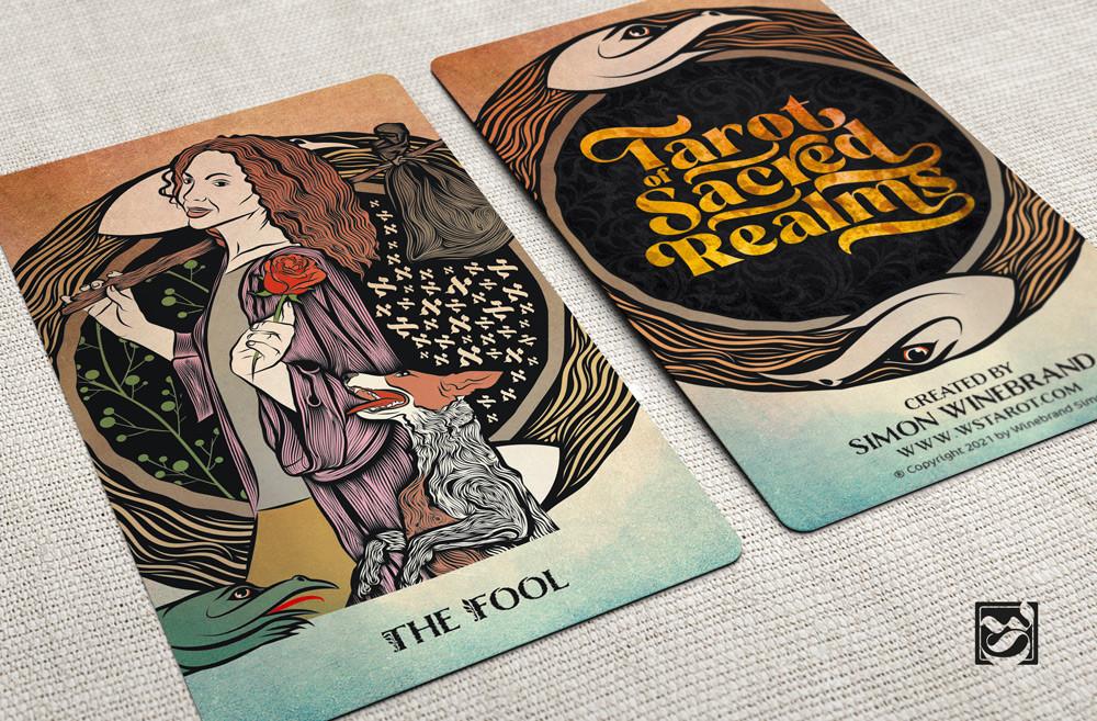 The Fool - Tarot of Sacred Realms