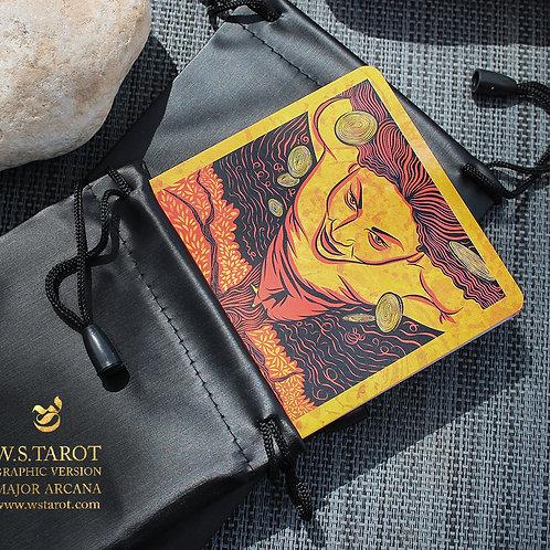 W.S. Tarot deck graphic version and a W.S. Tarot book (Major Arcana)