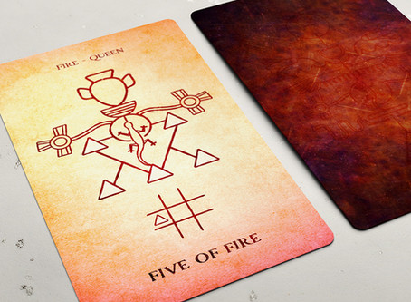 Five of Fire (Wands)