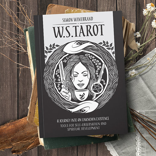 W.S. Tarot book, Paperback 106 pages