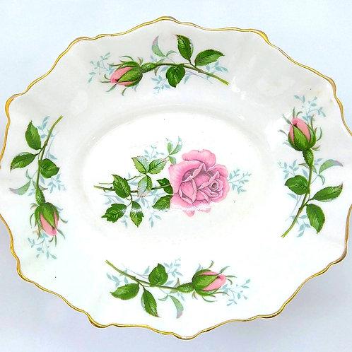 Vintage Royal Stafford Rose Soap Dish