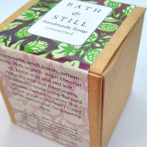 Unscented luxury vegan artisan soap