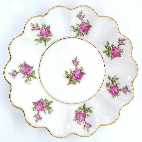 Vintage Rose Soap Dish