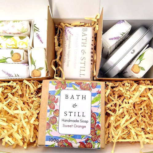 Travel Soaps and Travel Tin Gift Box