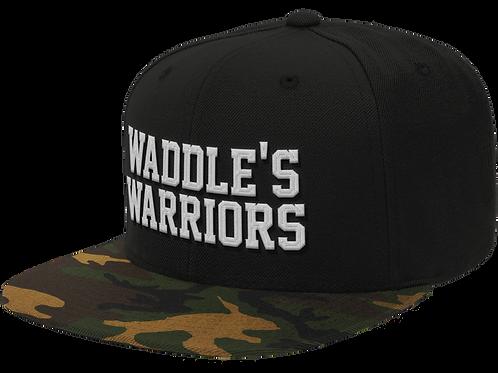 Waddle's Warriors Camo SnapBack Hat