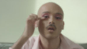 Man with Make-up