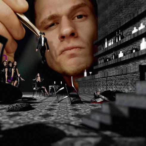 'Behind the scene'