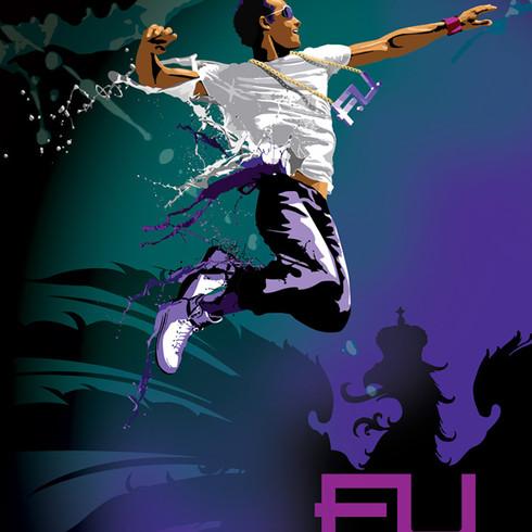 """""""F.U. dance studio"""" design"""