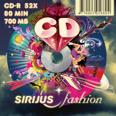 """SIRIJUS fashion"" CD design"