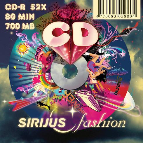 """SIRIJUS fashion"" CD design"