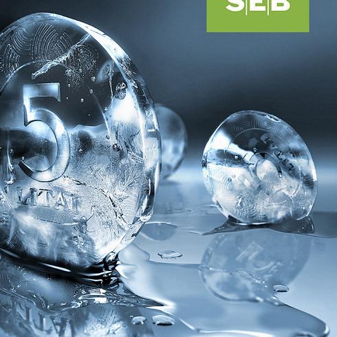 SEB melting money