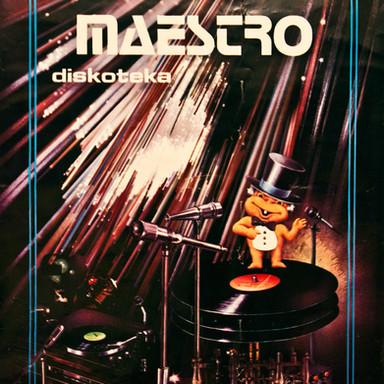 """""""MAESTRO diskoteka"""" handmade collage"""