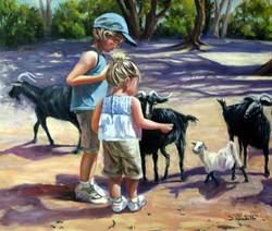 How Cute, 67 H x 84 cm, Oil on canvas