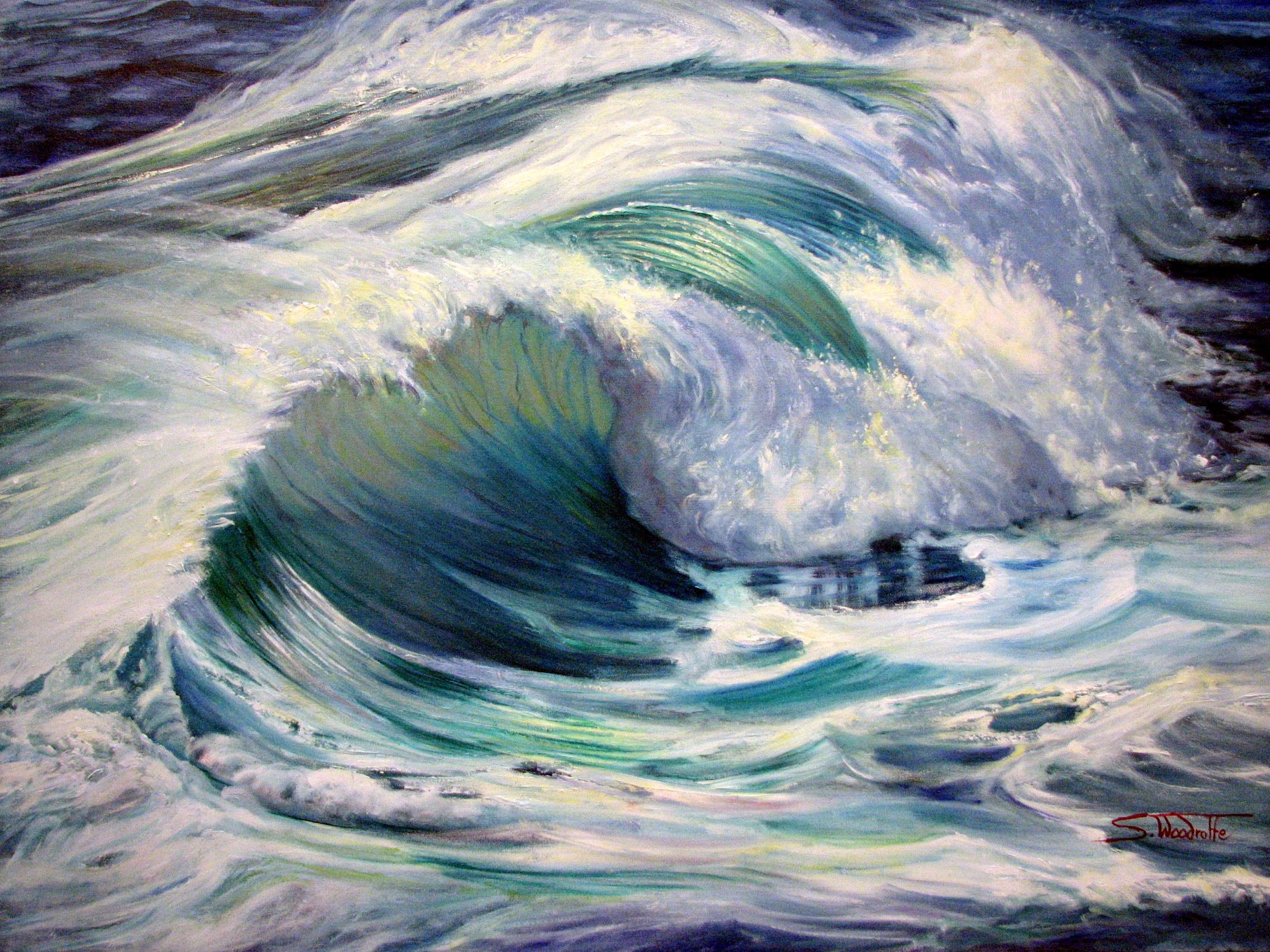 Crashing waves 2012