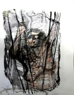 Freedom, 30H x 20 cm,Mixed media