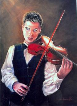 Trent (Commission 2006),  88H x 66 cm, Oil on canvas