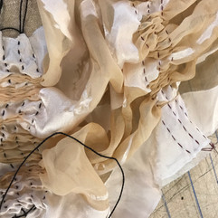 Natural Dye Fabric Pleats