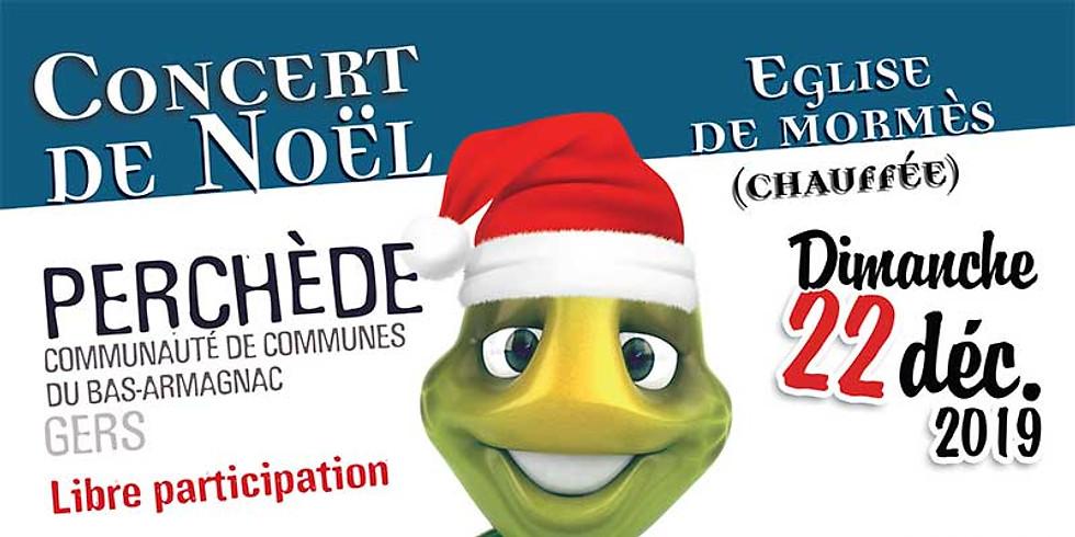OMNES ORBIS en concert de Noël à l'église de Mormès (32240)