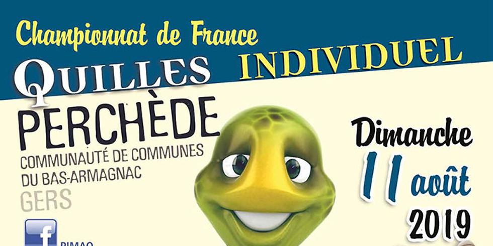 Championnat de France (Individuel) de QUILLES au MAILLET