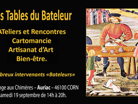 LOT - Les tables du bateleur à Auriac – Corn 46100