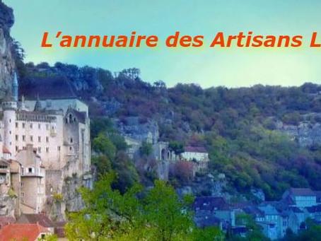 Lot (46) Annuaire des Artisans Lotois