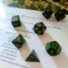 Dice, Critical Hit, The Forgotten Realms, Joshua Barbeau