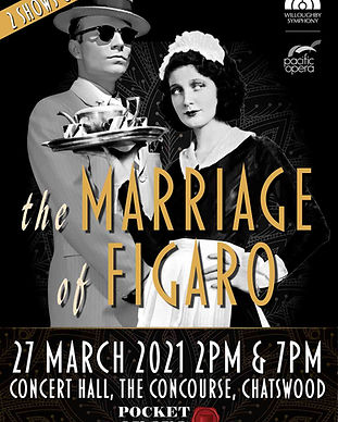 Pocket Opera Marriage of Figuro Poster H