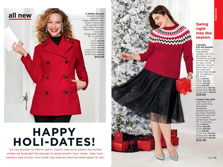 AVON Holiday 2018: Fashion!