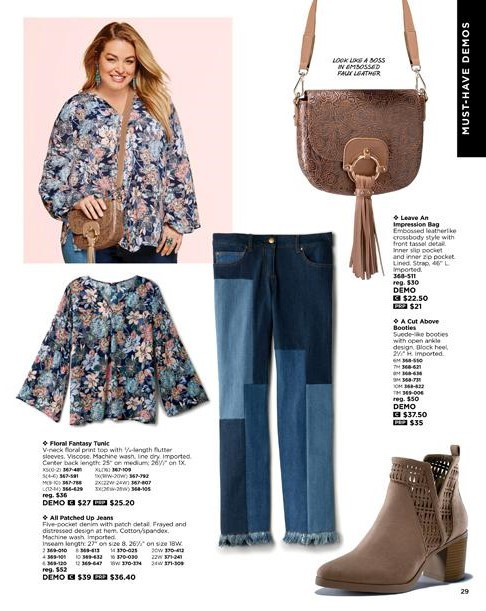 mark By Avon trendy plus size clothing