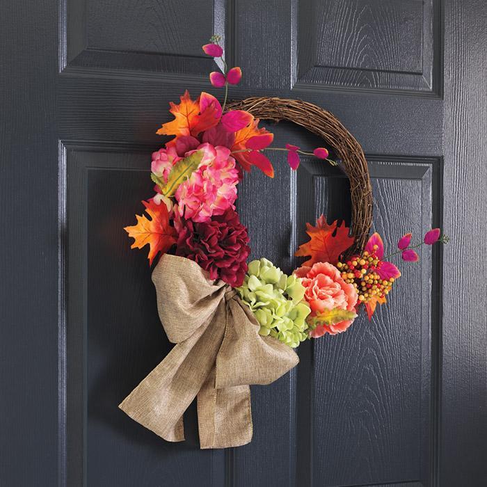 avon fall home decor 2018 - autumn romance wreath