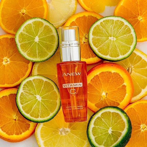 how to get glowing skin - AVON Anew Vitamin C Brightening Serum