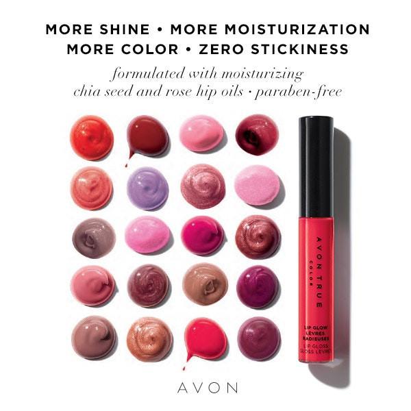 AVON True Color Lip Glow Lip Gloss
