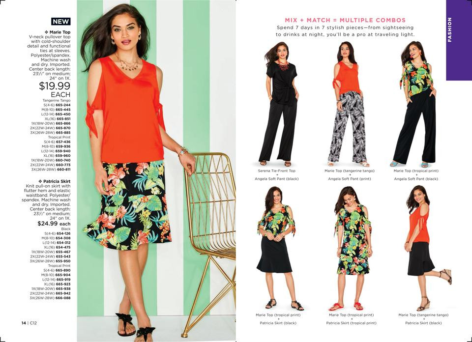 avon clothes