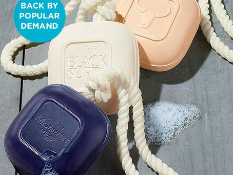 NEW! Soap On A Rope for Men by AVON