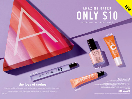 AVON A Box Campaign 11 2019 - Spring Ahead Beauty Box
