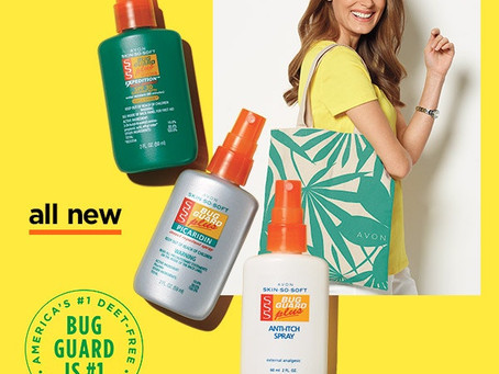 AVON Skin So Soft Bug Guard - Now in Travel Size Minis!