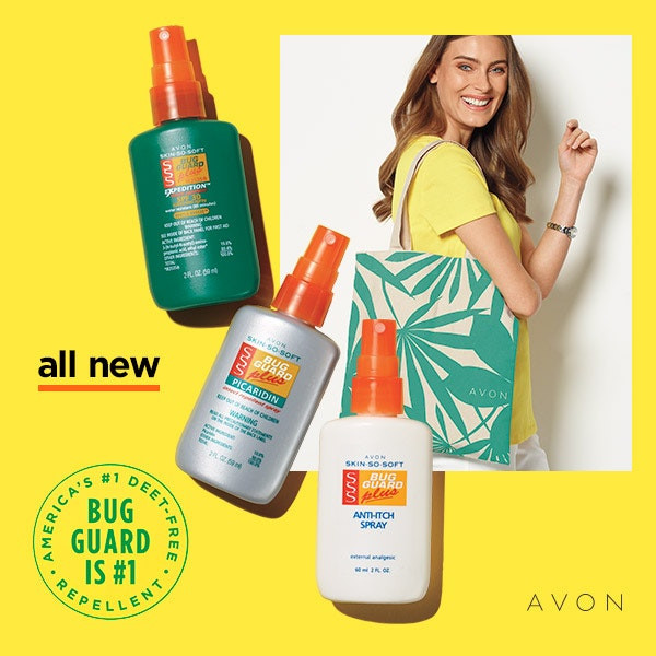 avon skin so soft bug guard mini - travel size
