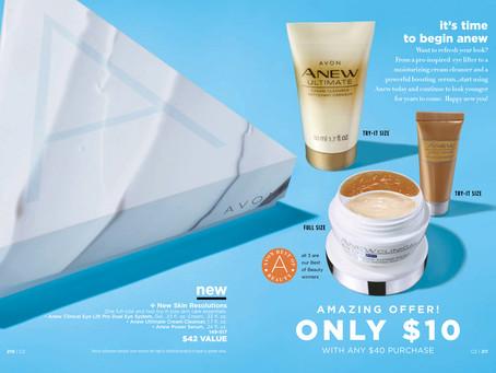 AVON A Box Campaign 2 2019 - New Skin Resolutions