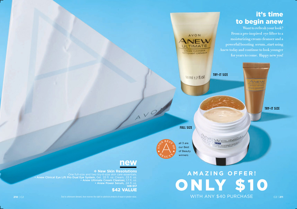 avon a box campaign 2 2019 New Skin Resolutions