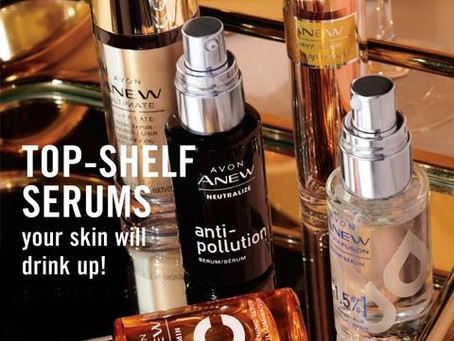 AVON Campaign 4 2020 Online Brochure/Catalog/Book - Top Shelf Serums your skin will drink up!