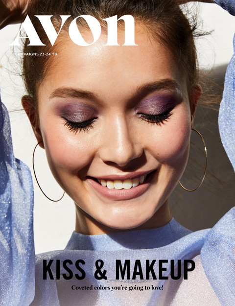 avon campaign 23 2019 online brochure Kiss and Makeup