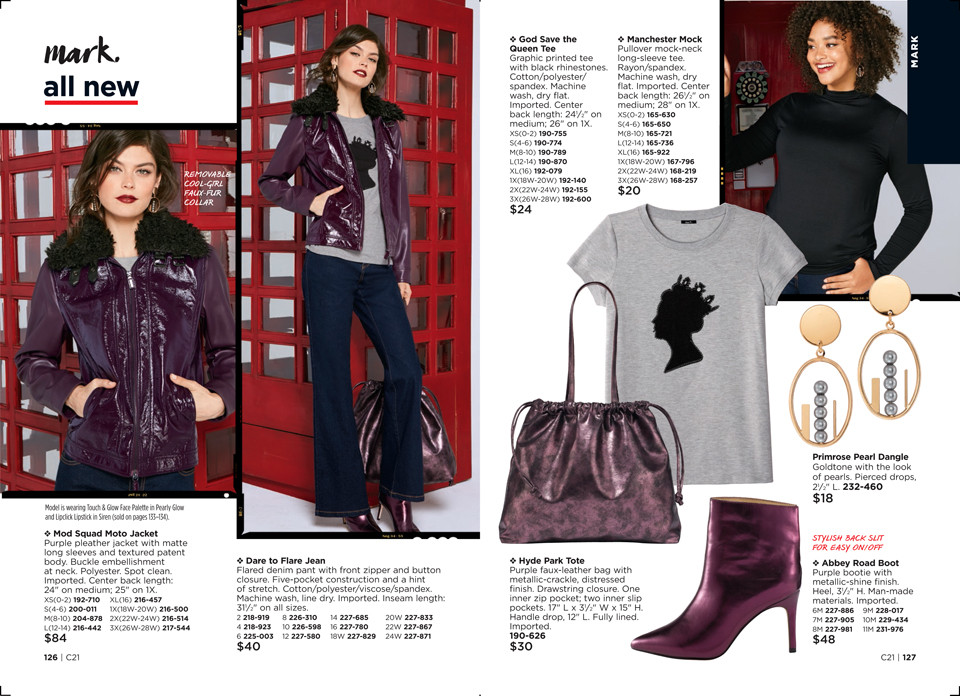 avon mad for mod fashion collection