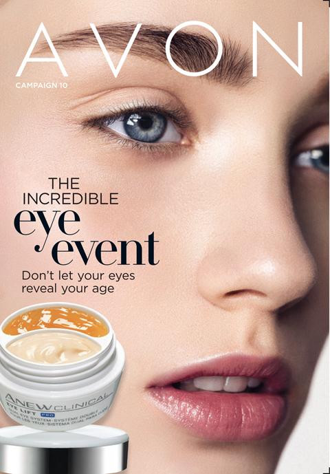 the avon incredible eye event featuring anew clinical eye lift pro dual eye system cream