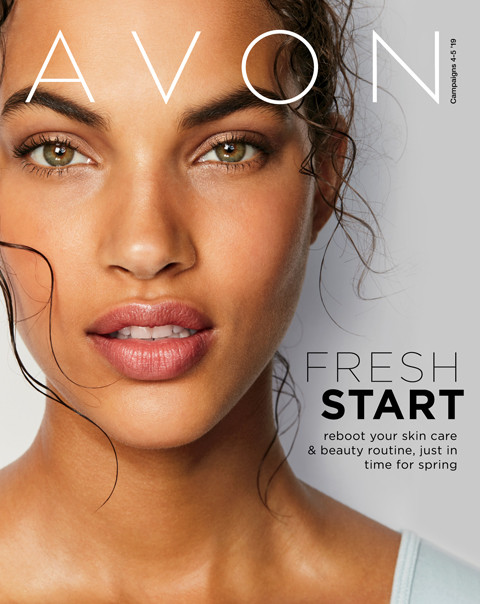 avon campaign 4 2019 online brochure/catalog Fresh Start