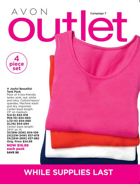 avon outlet brochure/catalog online free